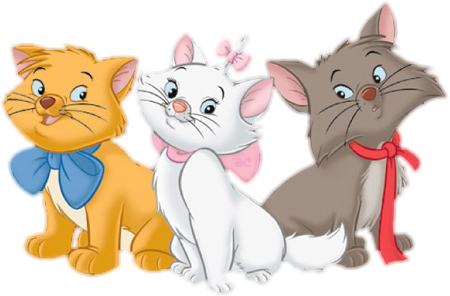Animals in Cartoons -  Aristocats (3/5)