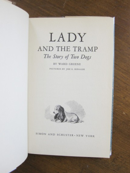 Lady and the Tramp the story of two dogs