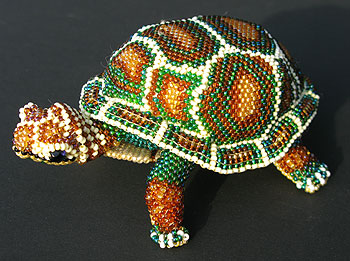 Bead Art Turtle 3