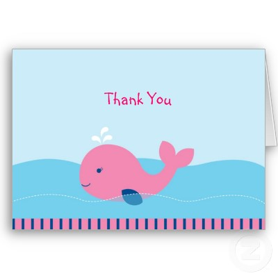 whale thank you