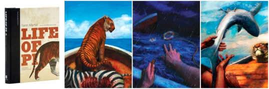 Life of Pi Illustrated Edition Cover 3