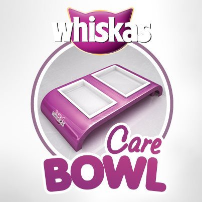 whiskas care bowl