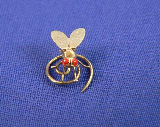 austrian fly brooch